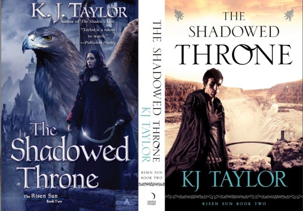 Shadowed Throne Covers